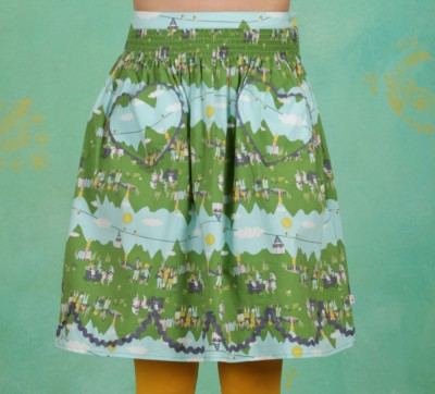 Rock, Ring My Heartbells Skirt, alpine-lovers