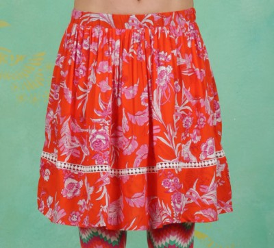 Rock, Summerbreeze Daydream Skirt, tangerine-tropical