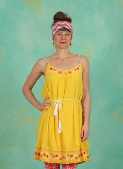 Kleid, Summer In The City Dress, sunflower-crepe
