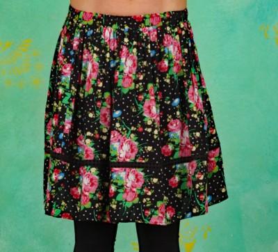 Rock, Summerbreeze Daydream Skirt, garden-of-joy