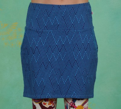Rock, Tingle Tangle Skirt, saphir-blue