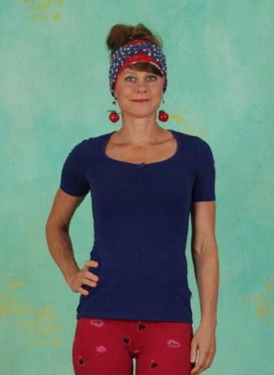 Shirt, Logo Balconette Tee, back-to-blue