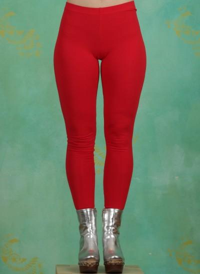 Leggins, Logo Leggings, back-to-red
