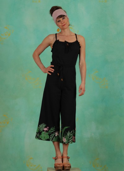 Jumpsuit, Out In The Green Jumper, tropical-night