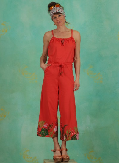 Jumpsuit, Out In The Green Jumper, tropical-heat