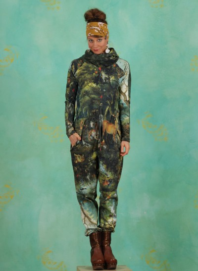Jumpsuit, Cozy Cocoon, forest-of-dreams