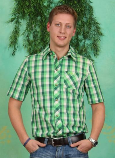 Kurzarm-Hemd, Blutsbruder Shortsleeve Shirt, evergreen-check