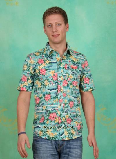 Hemd, Blutsbruder Shortsleeve Shirt, hawaiian-dream