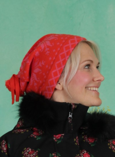 Mütze, Baltic Bommel Bonnet, norwegian-polar-lights