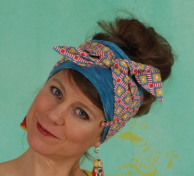 Haarband, Pretty And Chic Hairkerchief, glamping-girl