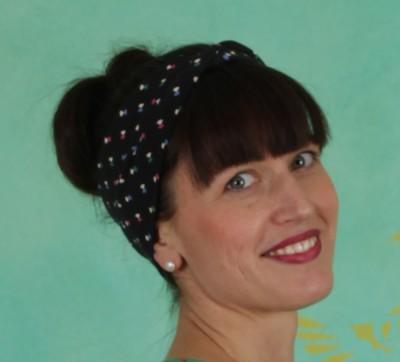 Haarband, Tiny Knot Hairband, disco-flies
