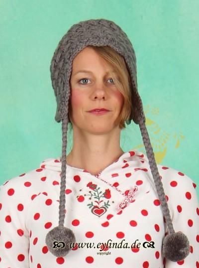 Mütze, Bommelwonder, almöhis-wool