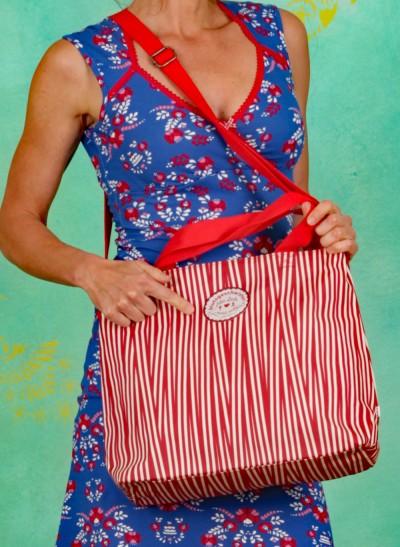 Handtasche, Eternal Love Shopper, full-of-stripes