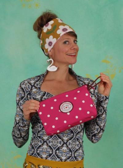 Kulturtasche, Sweethearts Washbag, pink-point