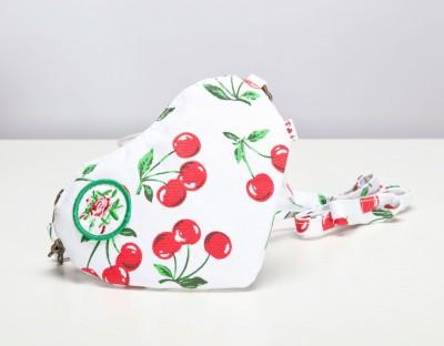 Tasche, Heart Bag, dolce vita kirsch