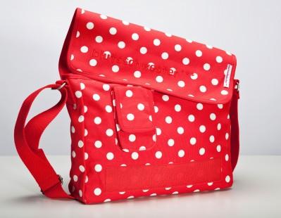 Tasche, Small-Shoulder-Holder, polka dot