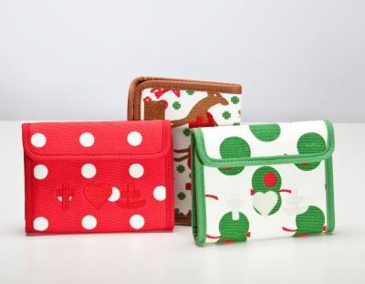 Portemonnaie, Retro-Purse, polka dot