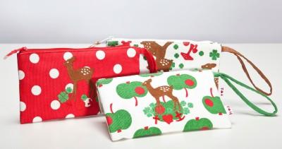 Tasche, Pencil Pouch, reindeer