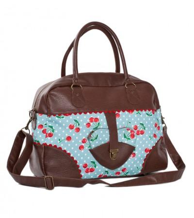 Tasche, Woodpackers Bag, polka-cherries