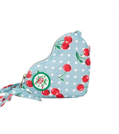 Tasche, Heart Bag, polka-cherries