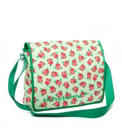 Tasche, Small-Shoulder-Holder, flashy-flower