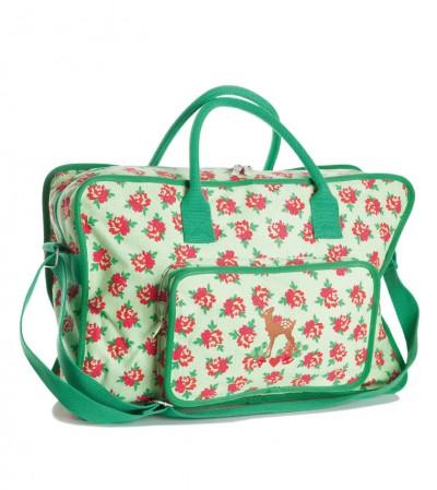 Tasche, Bin-dann-mal-weg-Bag, flashy-flower