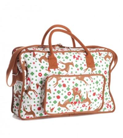 Tasche, Bin-dann-mal-weg-Bag, reindeer