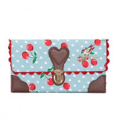 Tasche, Around The World In One Case, polka-cherries