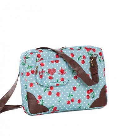 Tasche, Carry Your Computer-Case, polka-cherries
