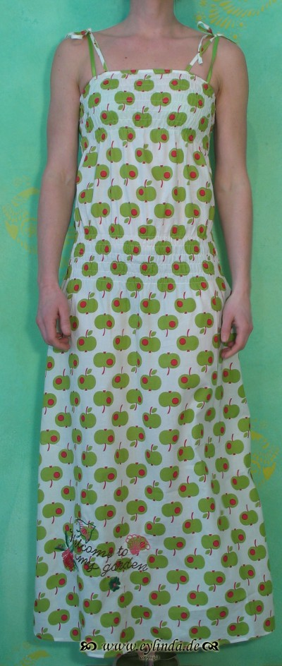 Kleid, Smockstück dress, big apple