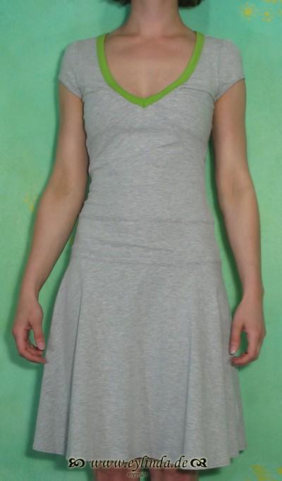 Kleid, Lochtellermeisterin, greymelange