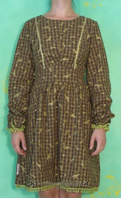 Kleid, Libuse Langbluse, goldmarie