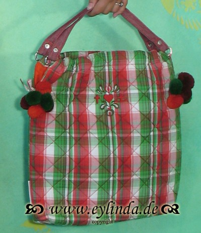 Tasche, Pompompaddingbag, apple jack