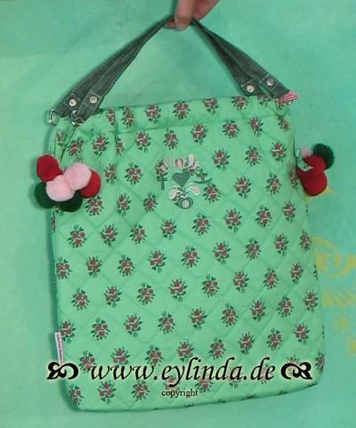 Tasche, Pompompaddingbag, missy mint