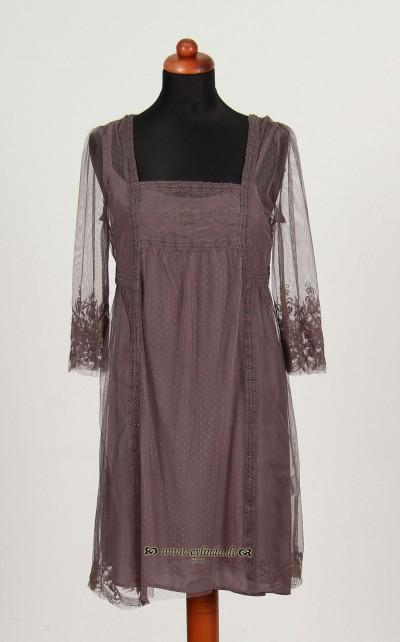Kleid, Norma Net, platin