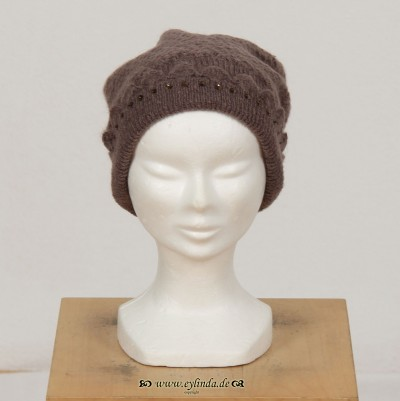 Mütze, Constance Acc., platin