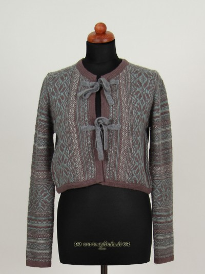 Cardigan, Gemini Knit, platin
