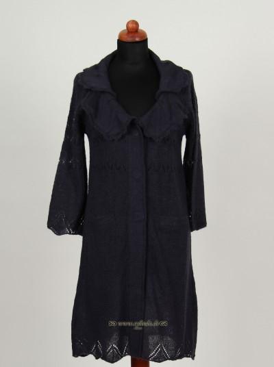 Cardigan, Crux Knit, darkness