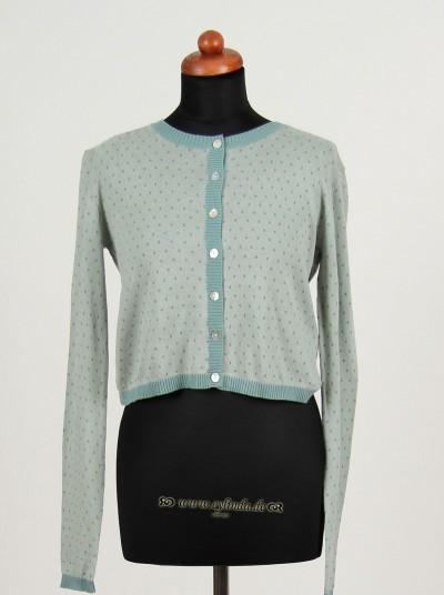 Cardigan, Basic Cotton Melange, water-light