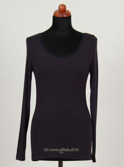 Shirt, Basic Lace, darkness