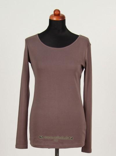 Shirt, Basic Single Rib, platin