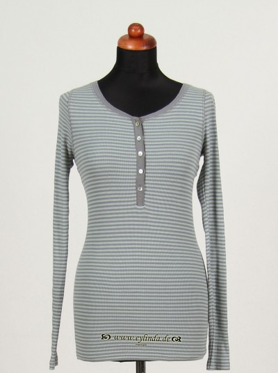 Shirt, Basic 2x2 Rip Light Striped, float