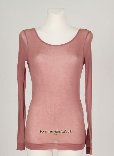 Shirt, Basic Cotton Jersey, blush