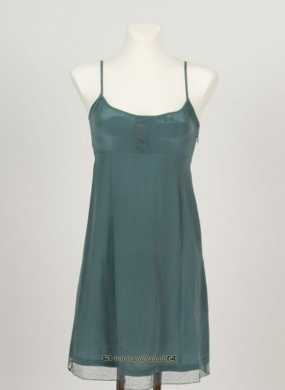 Kleid, Basic Silk, goblin