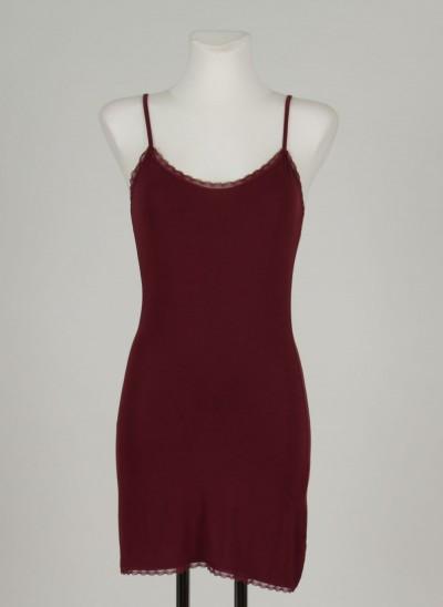 Unterkleid, L'ess Lace, burgundy
