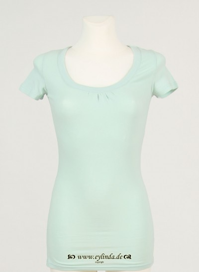 T-Shirt, Basic Jersey Stretch Light, light-canton