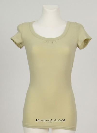 T-Shirt, Basic Jersey Stretch Light , lint