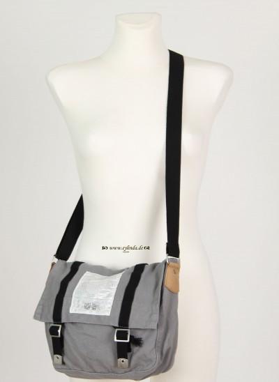 Tasche, Basic Canvas Bag Solid, cloudburst