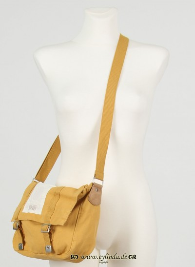 Tasche, Basic Canvas Bag Solid, mineral