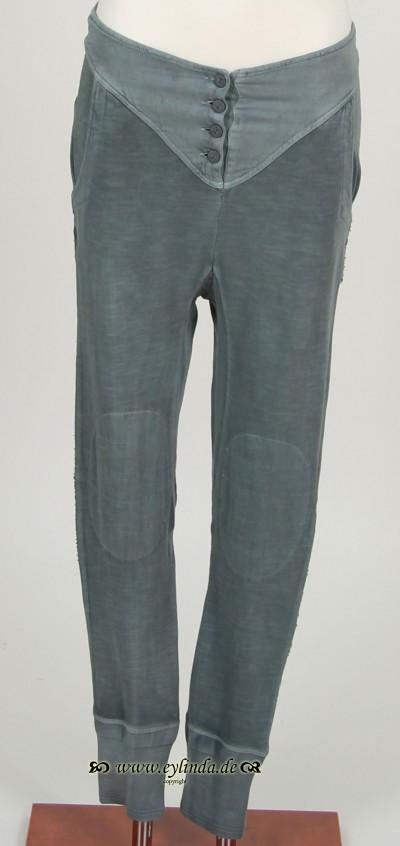 Hose, Basic Jersey Pants, goblin